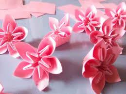 cara membuat bunga dari lipatan kertas cara membuat origami bunga sakura yang cantik