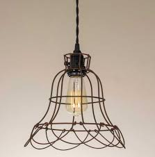 how to wire a pendant light wire cage farmhouse style pendant l emory valley mercantile