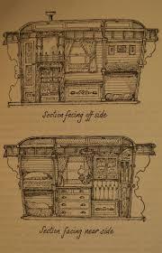57 gypsy wagon floor plans house roulotte wagon vardo goals
