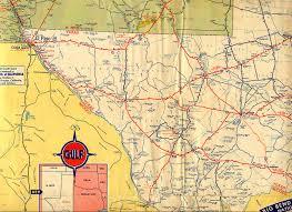 Oregon Highway Map by Texasfreeway U003e Statewide U003e Historic Information U003e Old Road Maps