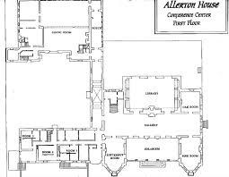 allerton floor maps
