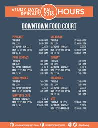 utsa dining on don t forget to check out hours of