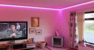 pink lights for room modern false ceiling led lights living room pink lighting