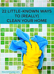 22 little known tips to really clean your home nourishing joy