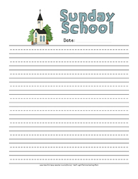 or worship note taking sheets for children church bears