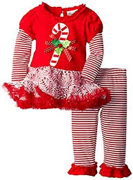 Where To Buy Candy Canes Amazon Com Rare Editions Girls Candy Cane Holiday Dress