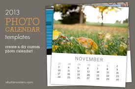 shutter sisters journal 2013 photo calendar templates