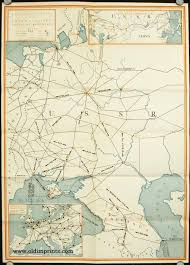 map of ussr map of the soviet union with travel rates suggested itineraries
