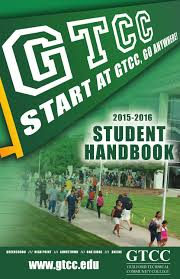 gtcc 2015 2016 student handbook by guilford technical community