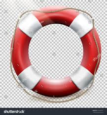 Included by Life Buoy Isolated On Transparent Background Stock Vector