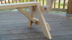 bench picnic table combo bench decoration