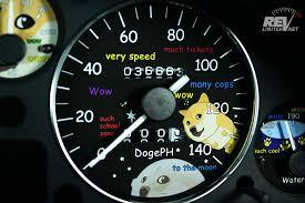 Doge Car Meme - much doge such gauges wow revlimiter net