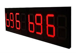 outdoor led sport countdown clock timer led countdown timer 6