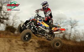 motocross atv shift racing u0027s john natalie ama atv motocross pro atv racer