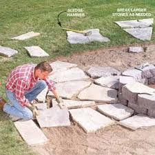 How To Make A Flagstone Patio With Sand 21 Best Backyard Designs Images On Pinterest Backyard Retreat