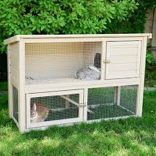 Rabbit Hutch Makers New Age Pet Ecochoice Columbia Rabbit Hutch U0026 Reviews Wayfair