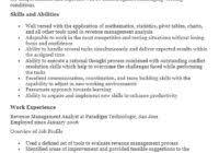 Management Analyst Resume Management Resumes U2013 Sample Resumes 2016