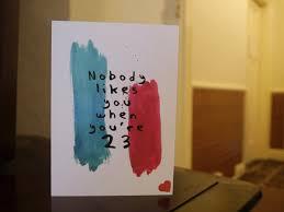 Blink 182 Halloween Shirt by Nobody Likes You When You U0027re 23 Blink 182 Lyrics Birthday