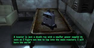 Death Toaster Fallout Iii New Vegas