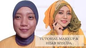 tutorial makeup natural wisuda hijab tutorial graduation videos bapse com