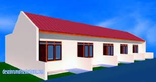 design interior rumah petak desain rumah petak 5 pintu desainrumahsederhana com