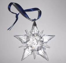 2001 swarovski annual snowflake ornament in