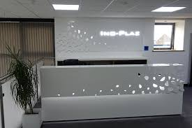 Bespoke Reception Desk Ino Plaz Archive Reception Desk Fit For Our New Look Office
