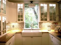 entrancing glass door kitchen cabinets decorating with apron front