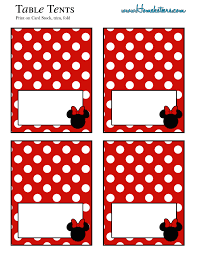 minnie mouse party printable kit u2013 red free