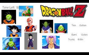dragon ball character match windows 8 8 1