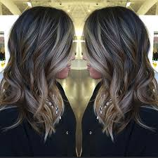 dark brown hair with blond highlights 60 balayage hair color ideas with blonde brown caramel and red