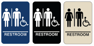 Bathroom Related Words Mesmerizing 80 Mens And Womens Bathroom Signs Inspiration Design