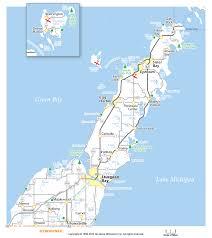 Wisconsin Lakes Map by Door County Map Of Door County Wisconsin Vacations