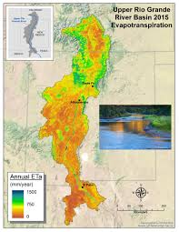 Map Of Rio Grande River Satellite Based Water Use Mapping Land Imaging Report Site