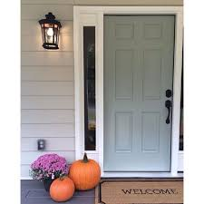 Exterior Door Paint Colours Mesmerizing Front Door Colors For Light Gray House Images Ideas