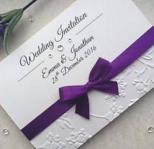wedding invitations ebay embossed wedding invitations ebay