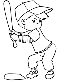 ideas collection free printable baseball coloring pages kids