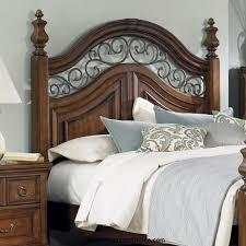 Wood And Iron Bedroom Furniture Metal And Wood Headboards Regarding Corrugated On Headboard I Made