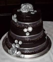 poured chocolate ganache 3 tier wedding cake cakecentral com