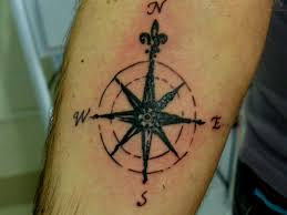 compass tattoos and designs page 43