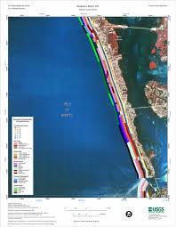 Venice Beach Florida Map by Bradenton Beach Nw Coastal Classification Atlas West Central