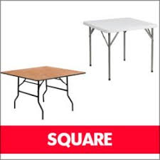 4ft square folding table an assortment of folding table shapes available ftuk