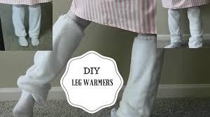 diy baggy leg warmers diy fake loose socks youtube