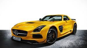 voiture de sport fond d u0027écran hd mercedes sls amg coupé voiture de sport jaune