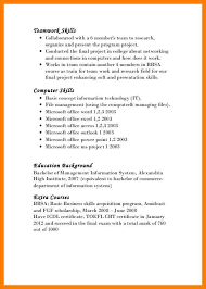 management skills in resume how to show teamwork skills on resume 5861