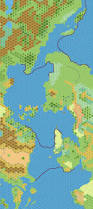 World Map Without Distortion by The Piazza U2022 View Topic Outer World World Map 2300 Bc Non Hex