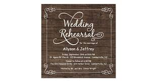 Dinner Invitation Rustic Wood Wedding Rehearsal Dinner Invitations Zazzle Com