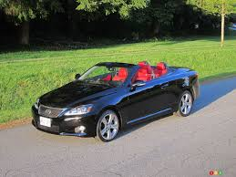 convertible lexus 2012 lexus is 250 c special edition car reviews auto123