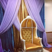 backdrop draping babyshower on instagram