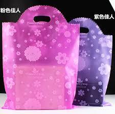 purple gift bags 50pcs 25x40 35x50 45x60cm wholesale pink purple clear plastic